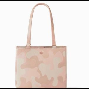 Limited Dagne Dover Small Allyn Tote in Dusk Camo